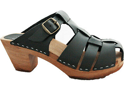 Funkis Black Clogs Sandals Sz 37 149 Aud