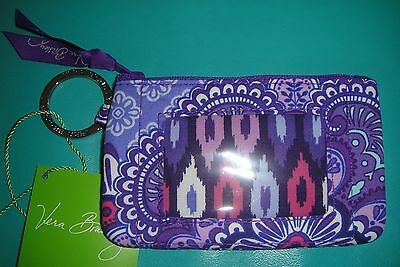"""Vera Bradley  Zip Id Case """"lilac Tapestry"""" Pattern!  New With Tags! $12"""