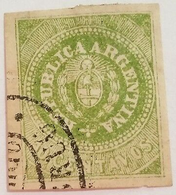 Argentina  10 Cent Used   Stamp Scu654Bk ..worldwide Stamps