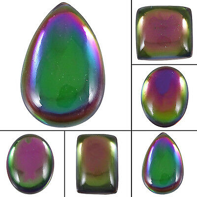 Excellent Multi-Colour Mystic Topaz Loose Cabochon Beautiful Exclusive Gemstone