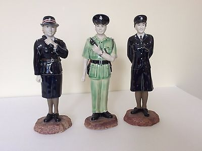Rare Commemorative Royal Hong Kong Police Force Ceramic Figurines 10""