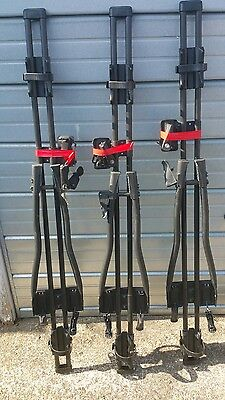 Halfords advanced lockable bike bicycle carrier x2 with keys