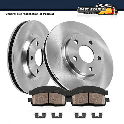 FRONT OE BRAKE Rotors And Ceramic Pads Honda Accord Sedan Coupe - 2003 acura tl rotors
