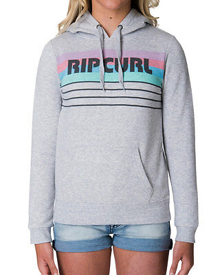 **Rip curl** Teens Girls Surf Pullover Fleece Hoodie Sweatshirt Jumper Size 8-14