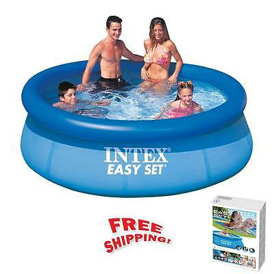 8ft Paddling Pool For Children Kids Baby Adults Large Swimming Toy Inflatable Uk