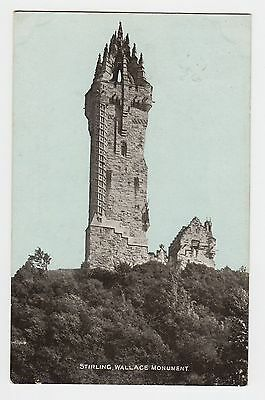 VINTAGE POSTCARD Wallace Monument, Stirling, Scotland 1904