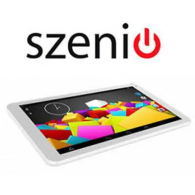 "Tablet 10.1"" Szenio Tablet PC 5000 32 GB Blanco Usada 