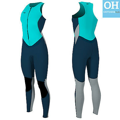 O'Neill Womens Long Jane Bahia Wetsuit Ladies Surf Kayak Sail Full Length John