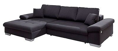 rolf benz ecksofa sento 433 sofa mit recamiere links stoff hellgrau eur picclick de. Black Bedroom Furniture Sets. Home Design Ideas