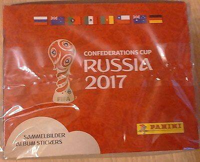 Panini Confederation Cup 1 sealed box (50 packs) from Russia