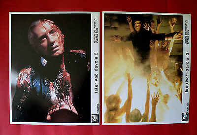 The Exorcist Iii 1990 Horror George C. Scott Ed Flanders Unique Exyu Lobby Cards
