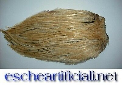 F139g collo di gallo naturale cream pesca mosca