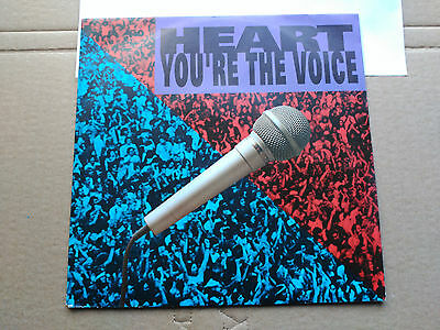 Single Heart - You're The Voice - Capitol Europe 1991 Vg+
