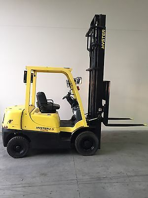 Hyster Forklift 2.5 Tonne Petrol Not Gas Or Diesel