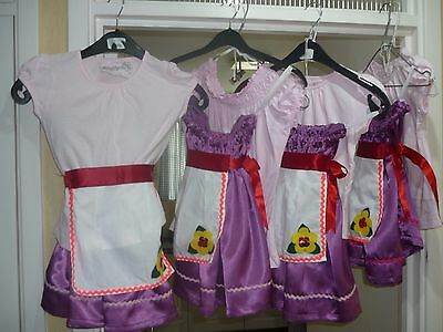 Babes costumes  set of 4 pantomime  dancers