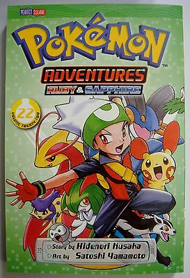Pokemon Adventures Ruby & Sapphire Volume 22 Story by Hidenori Kusaka Manga Book