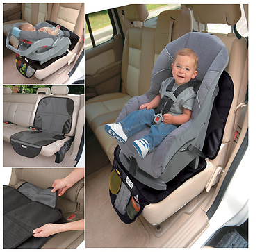 Car Seat Back Protector Cover Auto Mat Black For Children Child Kids Infant