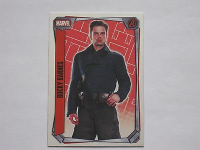 Topps MARVEL MISSIONS trading cards MIRROR FOIL Number 231 Bucky Barnes