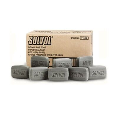 Solvol -  Liquid Hand Soap 71128 Soft on Skin 100g Bar Bulk 100 Bars per Case