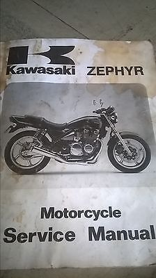 kawasaki zephyr genuine service manual
