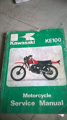 kawasaki ke100 genuine service manual