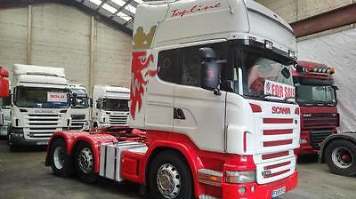 SCANIA R480 Manual Tractor Unit 2009 (59 plate)