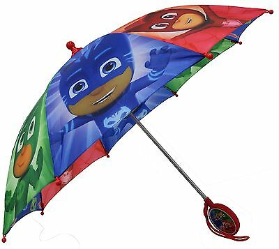 Disney PJ Masks Boys Umbrella - 3D Handle