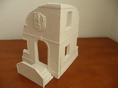WWII German building staircase ruins for diorama 1/35 accessories