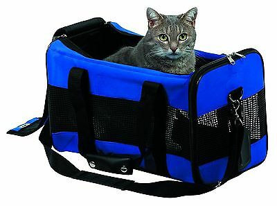 Jamie Large Blue Carrier Pet Bag Cats kitten Dogs puppy 28761 Crate car travel