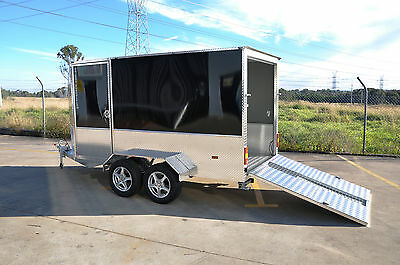 3.6m ALUMINUM QUAD BIKE  TRAILER-  FINANCE AVAILABLE $75 p/week for 4 years