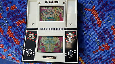 Nintendo game and watch pinball vintage and rare fully working HOT TOY DS