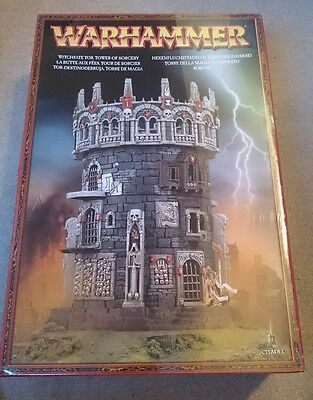 Games Workshop Warhammer Witchfate Tor Sigmar Fantasy Scenery Boxed Tower Sealed