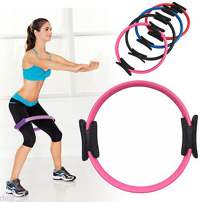 Pilates Ring Yoga Exercise Fitness Resistance Ring Circle for Gym Home Exercises
