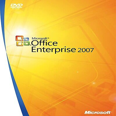 Microsoft Office ENTERPRISE 2007 FULL DOWNLOAD WITH GENUINE PRODUCT KEY 5 PC