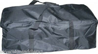 Black Nylon Hay Bale Bag