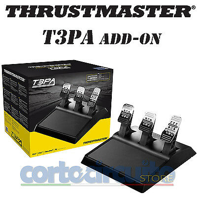 Thrustmaster Pedaliera T3Pa Add-On Pc/ps3/ps4/xone 4060056 Garanzia Italia
