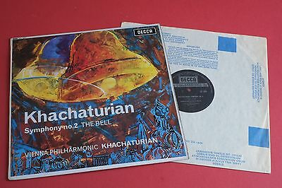SXL 6001 Khachaturian Symphony No.2 The Bell VPO DECCA UK STEREO LP