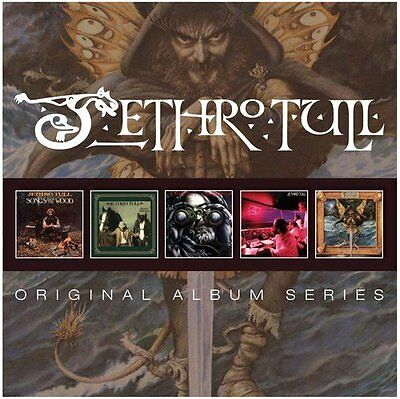 Jethro Tull Original Album Series 5 Cd Set