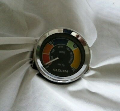 Smiths vacuum gauge 60s / 70s Classic Car, lotus, ford cooper s etc