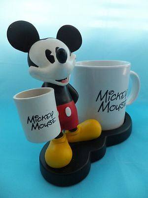 Vintage Disney Store Mickey Mouse Ornament With Mug Extremely RARE
