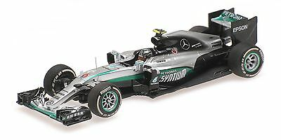 Minichamps 417160206 1/43 2016 Mercedes W07 Rosberg Winner Chinese GP 2016 Model