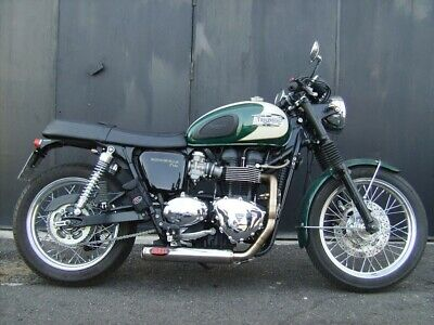 TRIUMPH BONNEVILLE / T100 / Thruxton MassMoto Exhaust Full System 2in1  Cross New