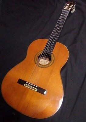 1977 Vintage Yamaha Grand Concert Classical Acoustic Guitar GC-5 (S)!