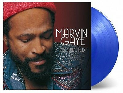 MARVIN GAYE - COLLECTED    Limited 180g Cool Blue Coloured Vinyl  2LP   SEALED