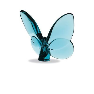 NEW Baccarat Turquoise Butterfly