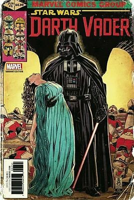 Star Wars Darth Vader #1 - 1:50 variant cover Mark Brooks 2017 - NM