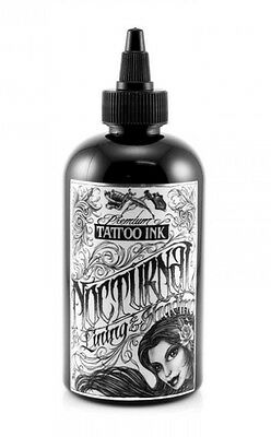 100% Authentic NOCTURNAL Ink 2oz - Lining & Shading Black - UK Supplier