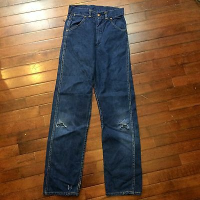 Tuffies Vintage 50s Boys Childs 24 x 30 Farm Work Jeans