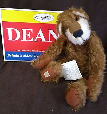 Dean's Mohair Teddy Bear Artist Showcase - Bear Cub By Janet Clark - 173 Of 750