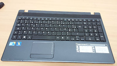 Clavier +Touchpad+Pièces  Pc Acer 5733